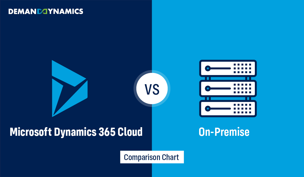 Dynamics 365 Cloud or On-premise? Know which is better for your business