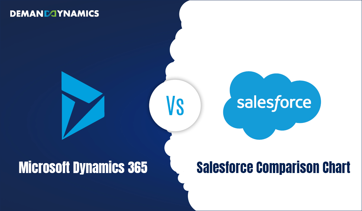 Microsoft Dynamics 365 Vs Salesforce