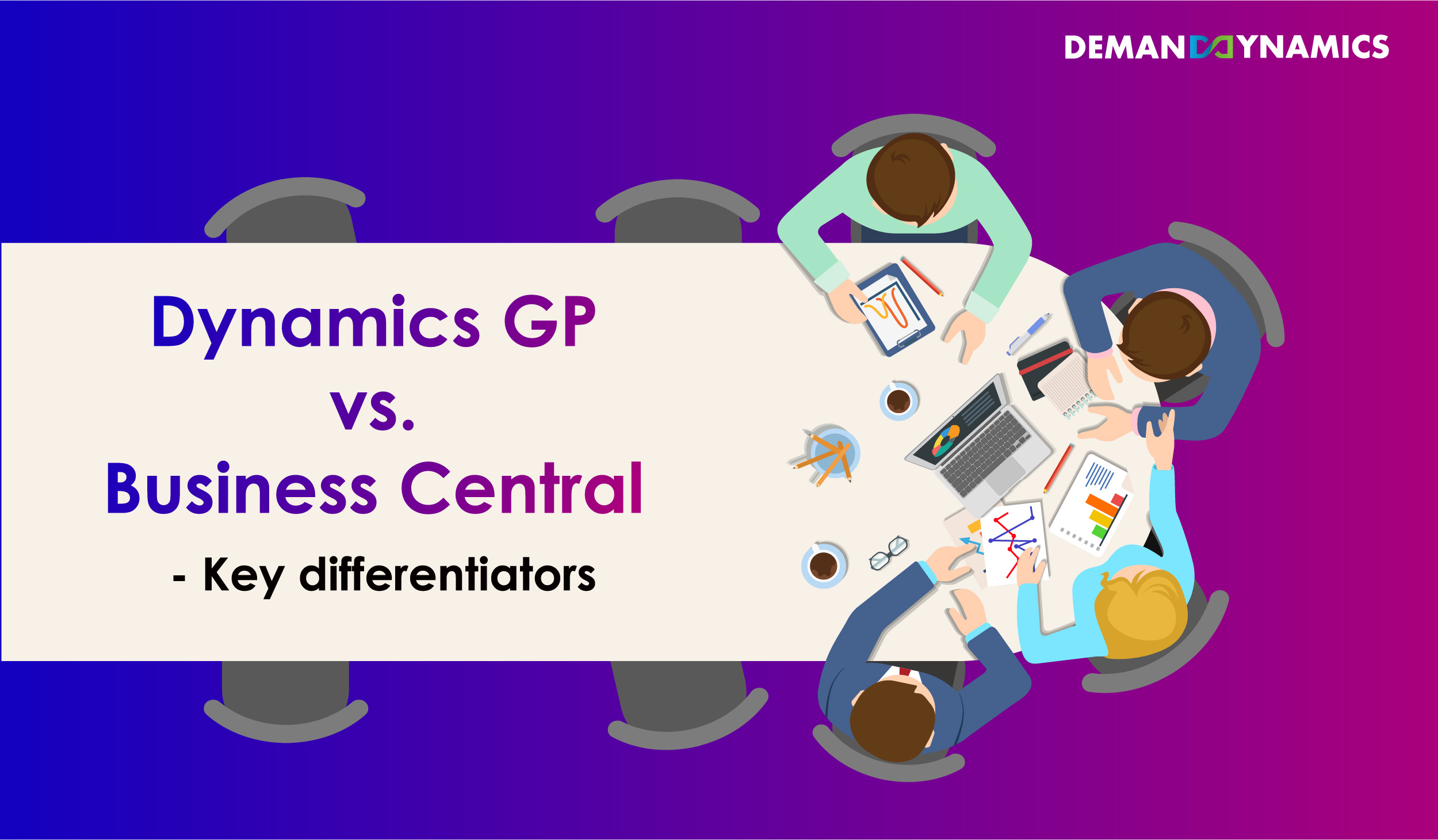 Microsoft Dynamics GP vs. Dynamics 365 Business Central
