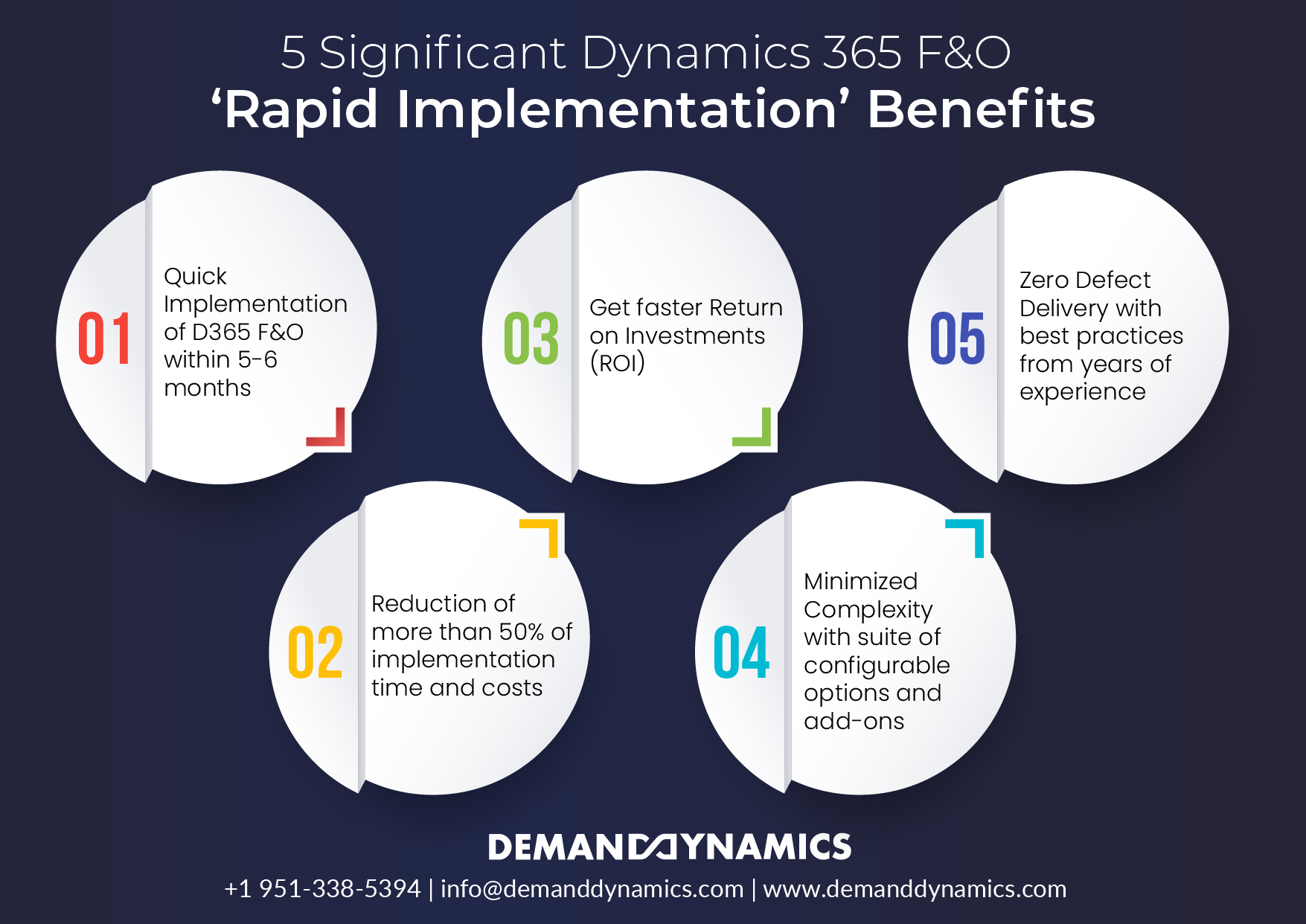 Significant Dynamics 365 F&O 'Rapid Implementation' Benefits