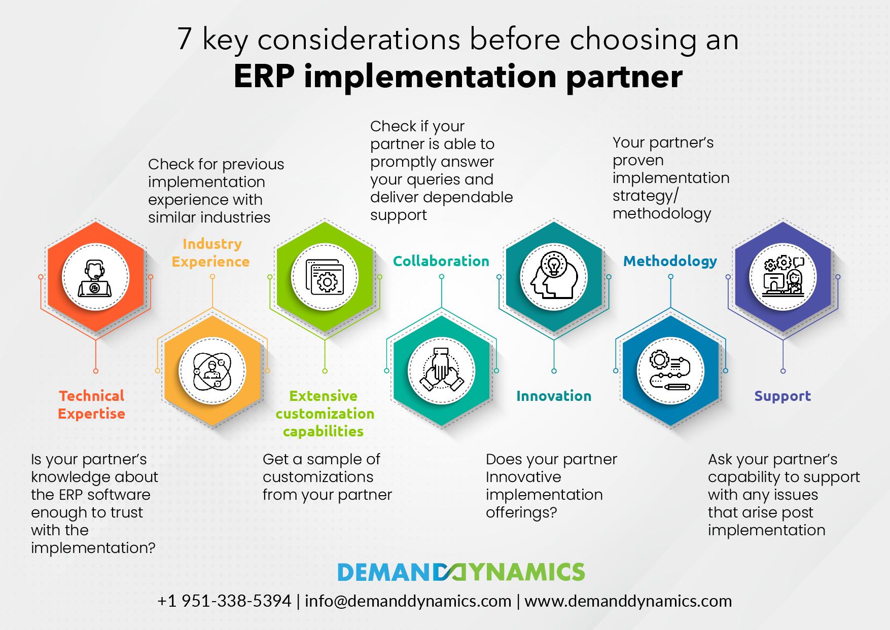 Considerations Before Choosing an ERP Implementation Partner